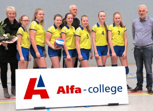 Alfa College nieuwe sponsor MB2