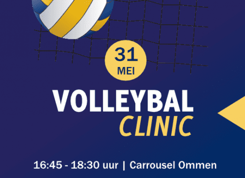 Volleybal clinic voor 6-11 jaar