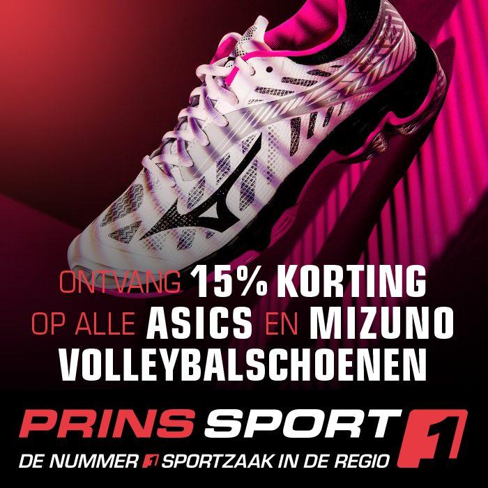 Schoenenactie bij PrinsSport