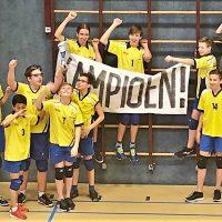 Jongens C1 kampioen!!