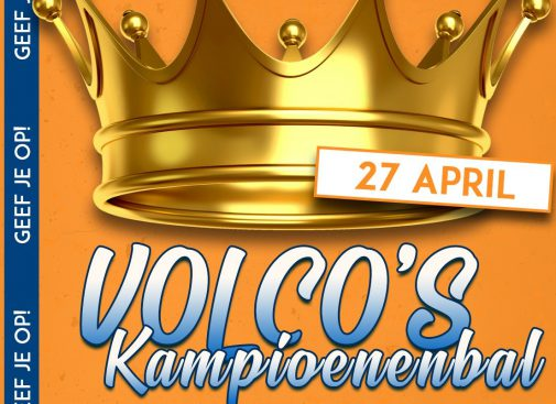 Volco mee in optocht Koningsdag
