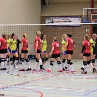 Fotoverslag LVC DS1 tegen dames 1