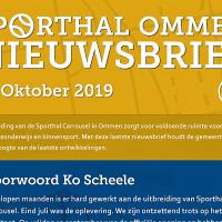 Sporthal Ommen; Laatste nieuwsbrief