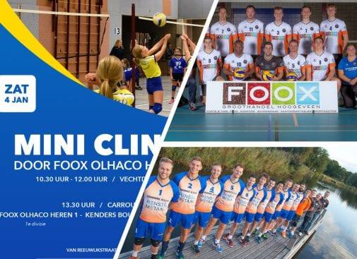 Clinic met Foox Olhaco HS1